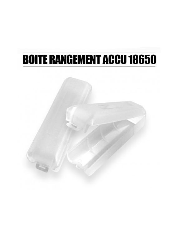 BOITE DE RANGEMENT ACCU 18650